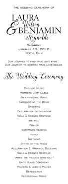 cheap ceremony programs affordable wedding programs ceremony order cheap wedding