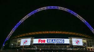 wembley lights up for the royals news reading fc