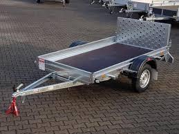 auto mit ladefläche pongratz multitransportanhänger m kippbarer ladefläche anhänger