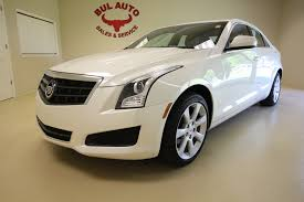 used 2012 cadillac ats 2013 cadillac ats 2 0t awd clean low sunroof leather