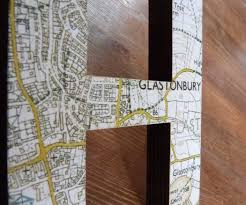World Map On Wood Planks by Customised Map Letters On The Cheap 3 Steps With Pictures