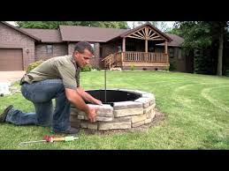 Stone Fire Pit Kits by 44 U2033 Fire Pit Kits Natural Concrete Products