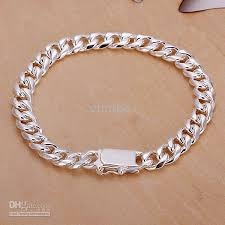 bracelet silver price images 2018 fashion 925 silver bracelet wholesale prices cool men 39 s jpg