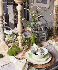 Kitchen Table Setting Ideas by Best 25 Easter Table Settings Ideas On Pinterest Easter Table