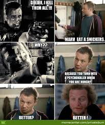 Snickers Commercial Meme - eat a snickers commercial