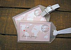 luggage tags favors travels favors luggage tags wedding heres and mores