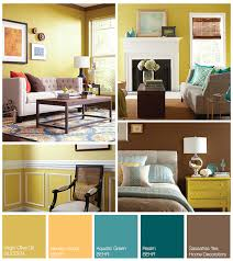 schemes a yellow teal inspired palette the home depot
