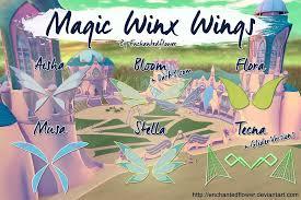 winx club magic winx wings enchantedflower deviantart