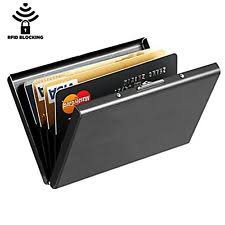 Best Business Card Holder Maxgear Best Rfid Blocking Wallet For Men And Women Secure Metal