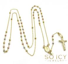 gold rosary 10k gold rosary chains necklaces for men so icy jewelry