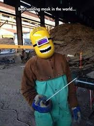 Welding Meme - best welding mask in the world