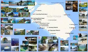 Map Of Bali Map Tour In Nusa Penida Island Of Bali