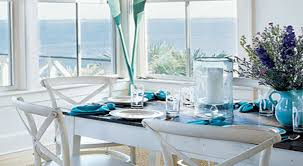 Coastal Inspired Kitchens - table coastal inspired kitchens and dining rooms pictures