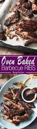 oven baked barbecue pork ribs recipetin eats