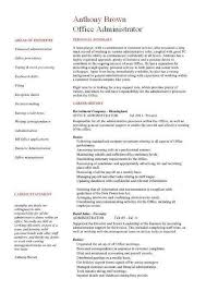 resumes for office jobs best office assistant resume example
