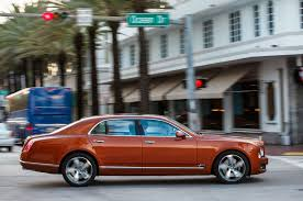 bentley orange 2015 bentley mulsanne speed first drive motor trend