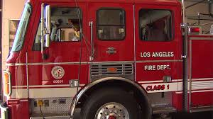 overtime pay boosts combined salary of 3 l a city firefighters to a los angeles fire department truck is seen in this file photo credit ktla