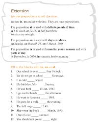 grade 3 grammar lesson 13 prepositions 4 grade 3 grammar