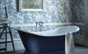 Bathroom Wallpaper Ideas Uk Colors Guide To Wallpaper And Paint Effects Period Living