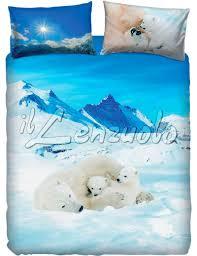 bassetti piumone copripiumone una piazza bassetti bears in the snow