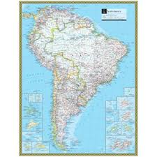 south america map atlas south america atlas maps