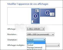 Laffichage De Lcran De Mon Pc Est Renvers Retrouver L Affichage Horizontal Windows Toutes Versions