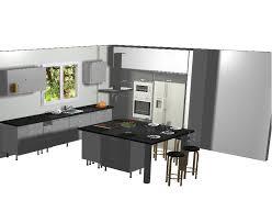 plan cuisine avec ilot central plan de cuisine avec ilot central charmant plan de cuisine moderne