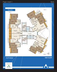 2 Bhk Floor Plans Spacious 2 Bhk 3 Bhk Flat Kasarvadavli Thane Floor Plans