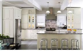 cuisines americaines modele cuisine ouverte mesure meubles rangement de americaine