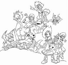 printable digimon coloring pages coloringstar
