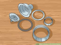 installing a new sink how to replace a sink basket strainer 15 steps with pictures