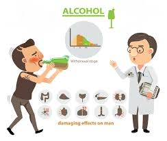 cartoon alcohol health risks and benefits of alcohol consumption preventive advisor