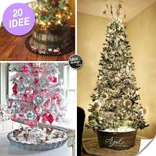 Ideas For Covering Christmas Tree Base by Christmas Tree 20 Original Ideas For Covering The Base