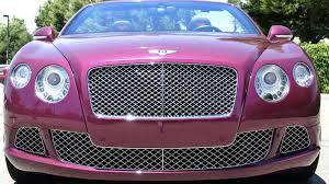 bentley pink 2014 bentley continental gtc f146 monterey 2017