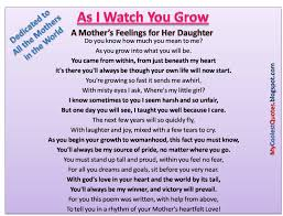 quote for daughter by father quotes about mothers love for her daughter dobre for