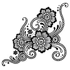 flower vector ornament corner royalty free cliparts vectors and