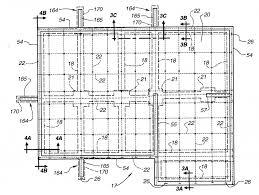 foundation floor plan cement slab house plans concrete block design philippines dome
