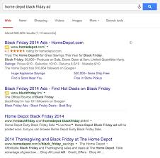 home depot pre black friday protecting your branded black friday serps northside seo