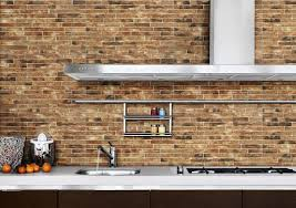 ideas for kitchen wall tiles 10 brick effect kitchen wall tiles design ideas for you newgomemphis