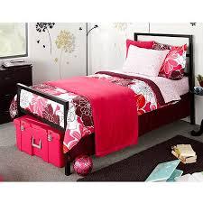 Black Twin Bed Mainstays Twin Parsons Bed Black Walmart Com