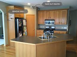 removing kitchen wall cabinets kitchen remodel before after construction2style