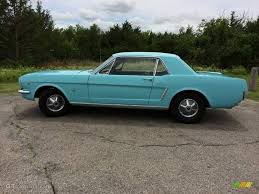 Black 1965 Mustang 1965 Tropical Turquoise Ford Mustang Coupe 101800590 Photo 8