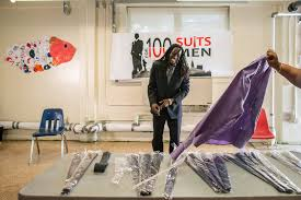 to get a job a nice suit can help these are free the new york