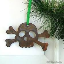 pirate ornament tropical jolly roger personalized keepsake