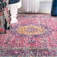 Pink Floral Rugs Mistana Darcia Pink Area Rug U0026 Reviews Wayfair