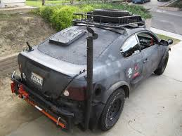 subaru baja off road zombie apocalypse off road scion tc