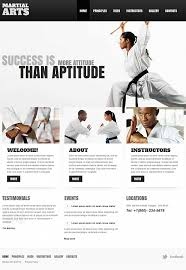 martial arts moto cms html template 47474