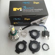white led motorcycle light kit 18w 24w 6500k white led headlight kit for harley softail street