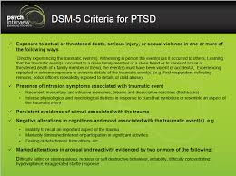 Dsm 5 Desk Reference How To Diagnose Post Traumatic Stress Disorder Clinical Interview