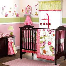 Brown And Pink Crib Bedding Baby Crib Bedding Sets Pink And Gray Brown Design
